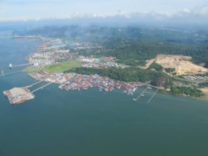 Another view - Sandakan is a major hub for eco-tourism.