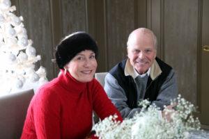 Susan Magrino and her husband Jim Dunning