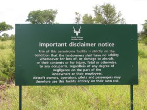 There are a lot of disclaimers.