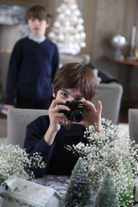 A photographer in the making.