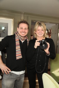 Here I am with Raymond Haddad - he was showing me his super new 85mm lens.