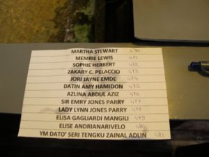 Our names and our coral numbers