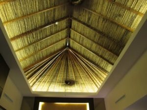 Beautiful vaulted ceilings