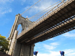 The very majestic Brooklyn Bridge