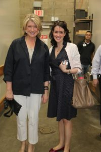 I entered Costco with Nicole Sutliff from the Susan Magrino Agency.