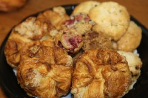 John Barricelli from the SoNo Baking Company and Cafe http://www.sonobaking.com/ sent some of his creations for us to eat.
