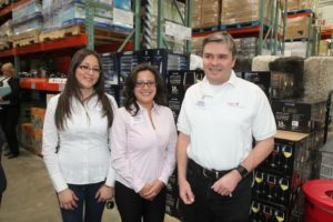 Costco employees - Maria, Fanny, and Charles