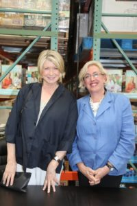 Here I am with Allison Devlin from Potter Craft, my publisher.