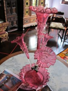 A beautiful Venetian glass vase