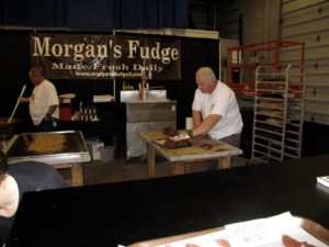 Morgan's Fudge is a tradition at The Equine Affaire.