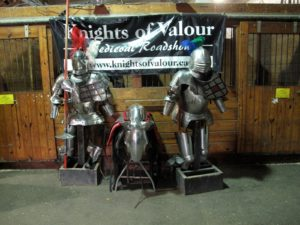 Something of a reenactment - Knights of Valour have been entertaining audiences nationwide with their exciting shows of horsemanship, bravery and chivalry.