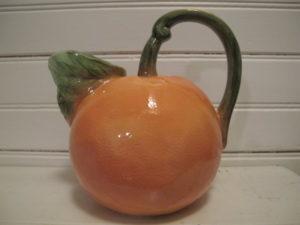 A whole orange