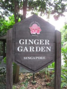 The 2.5 acre Ginger Garden contains more than 250 species.