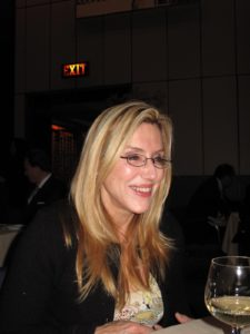 Dolly Lenz, our hostess for the evening, was so much fun!