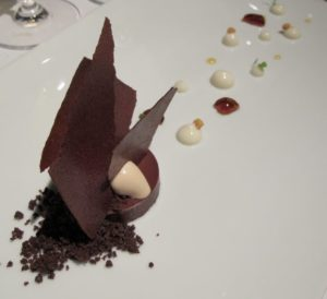 This rich chocolate dessert was spectacular!