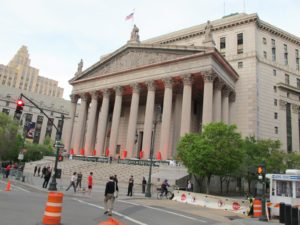 The Vanity Fair Celebration took place, next door, at the State Supreme Courthouse at 60 Centre Street.