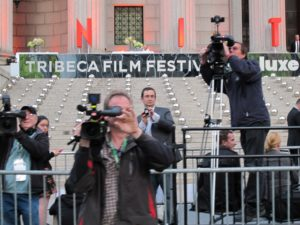 More paparazzi, many of whom covered my trial