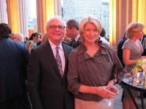 Here I am with my friend, Barry Levinson - screenwriter, film director, actor, and producer.  The woman with the dark hair standing behind him is Wendi Murdoch, wife of Rupert Murdoch.