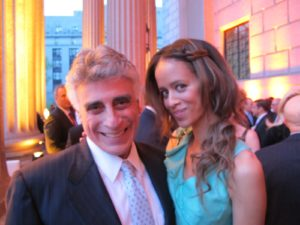 Former city-council president, Andrew Stein and his date