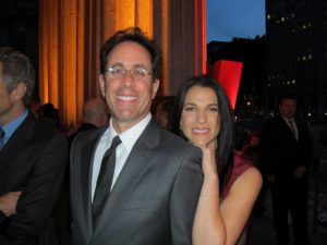 Jerry Seinfeld and his wife, Jessica
