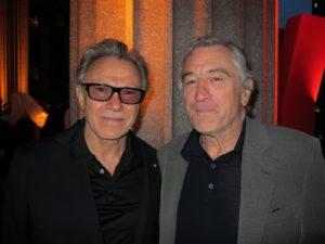 Harvey Keitel and Robert De Niro - these two great actors have been buddies since boyhood.