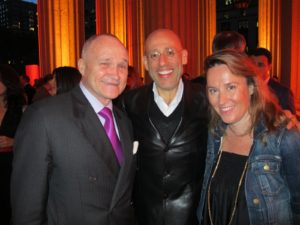 NYPD Commissioner Ray Kelly, my good friend Peter Arnell, and Venessa Holden - new editor-in-chief of Martha Stewart Living