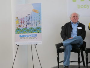 Here is judge Marty Carey - creator of one of the original Earth Day Posters.