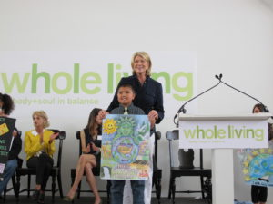Here I am with 5th grade winner - Brian Wong - P.S. 230