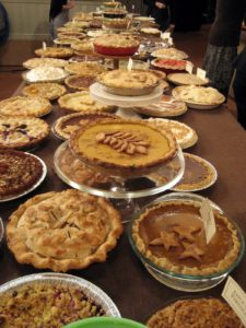 It was a most amazing pie display!