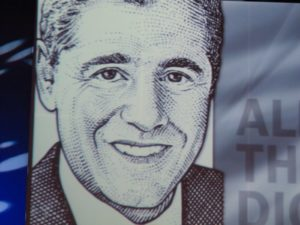 Federal Communications Commission Chairman Julius Genachowski's hedCut