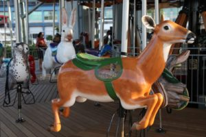 Carousel Works, the manufacturer, did a beautiful job creating these animals.