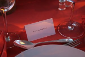 My place setting - and at my table were...