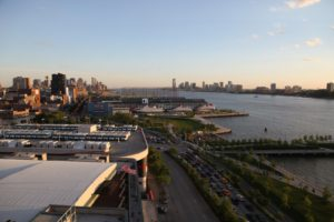 The beautiful transformation of the Hudson Riverfront has made it much greener and very user-friendly.