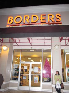 This is the Borders in Syosset.