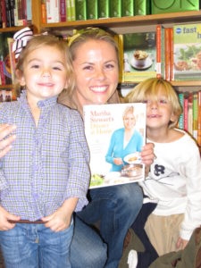 Isabella, Janna, and Hudson - friends of Nicole Sutliff, of the Susan Magrino Agency