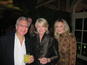 Here I am with Paul Schindler - entertainment lawyer - and his wife, Jane.