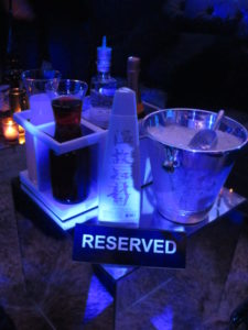 This table was reserved for Diddy.