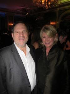 My friend, Harvey Weinstein