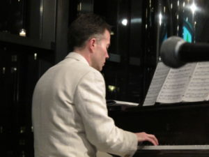 Djordje Nesic - piano accompanist for the evening