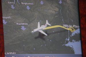 In-flight information