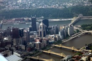 With 446 bridges, Pittsburgh is known as The City of Bridges.
