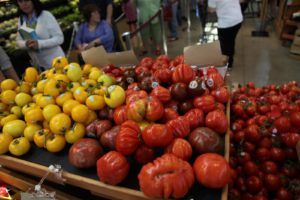 I was impressed with these heirloom tomatoes.