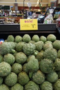 And these colossal artichokes