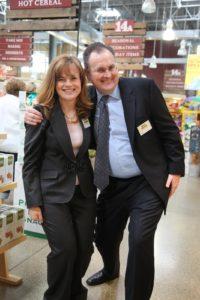 Giant Eagle executives - Keri Brown and Brett Merrell