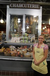 Anina has vast knowledge of cheese and charcuterie.