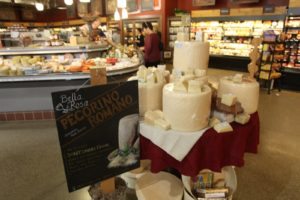 They sell hundreds of varieties of cheese.