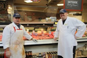 Dennis and Derrick - very friendly and knowledgeable butchers