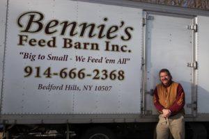 This is Mike, aka Bennie, of Bennie's Feed Barn.