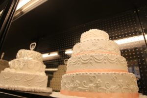 They even bake wedding cakes here!