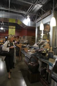 After the book signing, I was so happy to walk through the fantastic Giant Eagle Market District.